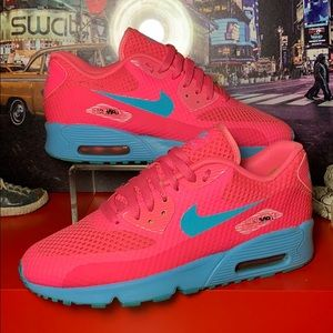 Nike AIR MAX 90 LTR Athletic Sneakers Size 7Y 🔥
